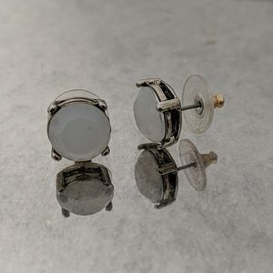 Anthropologie Gem Stud Earrings
